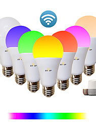 cheap -1pc 9 W LED Smart Bulbs 810 lm E26 / E27 A60(A19) 34 LED Beads SMD 2835 APP Control Smart Timing RGB&CW 85-265 V / Dimmable
