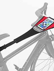 Недорогие -Сотовый телефон сумка 6 дюймовый Велоспорт для iPhone 8 Plus / 7 Plus / 6S Plus / 6 Plus Черный с красным Велосипедный спорт / Велоспорт Велоспорт