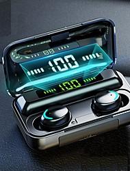 Недорогие -F9-5 tws 5.0 сенсорный блютуз наушники hd стерео handsfree беспроводная ipx7 водонепроницаемые наушники бизнес игровая гарнитура со светодиодным дисплеем