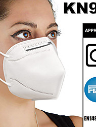 cheap -20 pcs KN95 FDA CE EN149:2001 Standard Face Mask Respirator Protection PM2.5 Protection In Stock CE FDA Certification High Quality Unisex White / Filtration Efficiency (PFE) of >95%