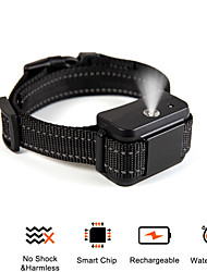 cheap -Dog Training Spray Bark Collar Citronella Control Stop Barking Collar for Dogs Small Medium Large Adjustable Rechargeable Waterproof No Shock Harmless&Humane