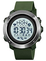 Недорогие -SKMEI Смарт Часы Цифровой Современный Спортивные силиконовый 30 m Защита от влаги Smart Повседневные часы Аналоговый На открытом воздухе Мода - Черный Зеленый