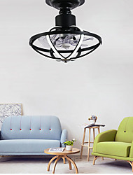 cheap -45 cm Dimmable Geometric Shapes Ceiling Fan Aluminum Slim Painted Finishes Modern Nordic Style 110-120V 220-240V
