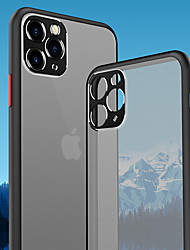 cheap -Case For Apple iPhone 11 Pro 11 Pro Max 11 Camera Protection Bumper Frosted Back Cover Colored XS Max XR XS X 8 8 Plus 7 7 Plus