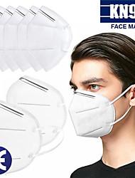 Недорогие -20 pcs KN95 Лицевая маска противогаз Защита В наличии Ткань выдувной фильтр Белый