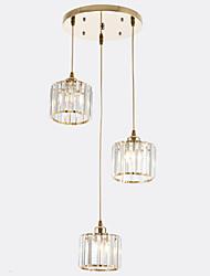 Недорогие -современный подвесной светильник, окрашенный металлической отделкой, новый дизайн, регулируемый 110-120v / 220-240v