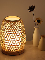 cheap -Table Lamp Simple For Indoor 220V Wood