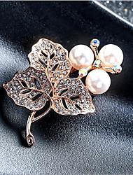 Недорогие -броши из циркония женские классические бабочки стильные простые классические брошь ювелирные изделия золото серебро для вечеринки подарок повседневная работа фестиваль