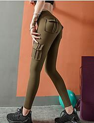 cheap -Women's Basic Slim Sweatpants Pants - Solid Colored Black Army Green Gray S / M / L