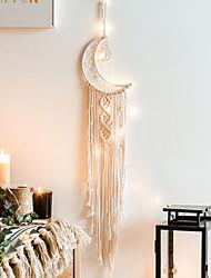 cheap -Macrame Wall Hanging Art Woven Boho Home Decor, Geometric Wall Art for Apartment Dorm Room Decoration