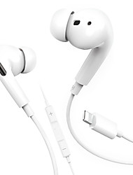 cheap -For Apple iPhone 7 8 6 Plus XS Max 11 Pro In Ear Stereo Headphones with Microphone Wired Bluetooth Earphone for iPhone 11 X XR XS Max Headsets
