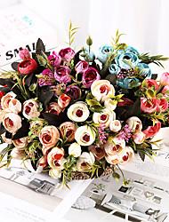 Недорогие -Лай букет роз украшение дома вечные розы свадьба атмосфера украшения с цветами в руках