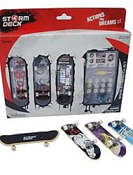 Недорогие -3 pcs Палец скейтборды пластик Товары для офиса Сувениры для гостей для детских подарков / Детские