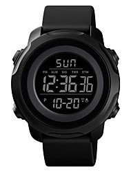 cheap -SKMEI Unisex Sport Watch Digital Modern Style Sporty Outdoor Calendar / date / day Digital Black Blue Green / One Year / Silicone / Chronograph / Dual Time Zones