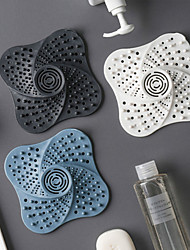 cheap -Anti-blocking Hair Catcher Hair Stopper Plug Trap Shower Floor Drain Covers Sink Strainer Filter Bathroom Kitchen Accessories
