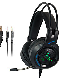 cheap -V2000 Gaming Headset Surround Sound Bass Stereo Game Headphones With Microphone LED Colorful Headset