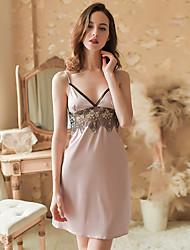 Недорогие -дамы сексуальное кружево ночная рубашка соблазн белье нижнее белье пижамы