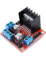 cheap -L298N Dual H Bridge DC Stepper Motor Drive Controller Board Module 5V-35V