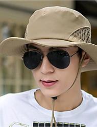 Недорогие -Муж. Шляпа от солнца Холщовая ткань Классический - Однотонный Весна Лето Желтый