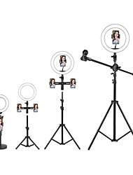 cheap -LED Selfie Ring Light Fill Light TikTok Lights Youtube Video Dimmable Broadcast Live with Stand Phone Holder Microphone 1pc 2pcs