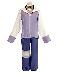 cheap -Inspired by Naruto Hyuga Hinata Anime Cosplay Costumes Japanese Outfits Coat Pants Underwear For Men's Women's