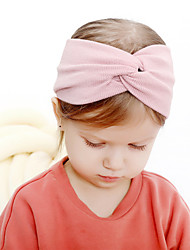 cheap -Fabric Headbands Durag Kids Bowknot Elasticity For New Baby Holiday Stylish Active Black and Purple Blushing Pink Army Green 1 Piece