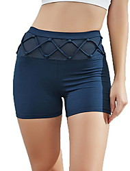 cheap -Women's Sporty Loose Shorts Pants - Solid Colored Blue Gray Light Blue S / M / L