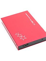 Недорогие -litbest yd0010 hdd мобильный высокоскоростной внешний портативный жесткий диск персональное облако интеллектуальное хранилище 2.5 дюйма usb3.0 красный 120 г / 160 г / 250 г / 320 г / 500 г