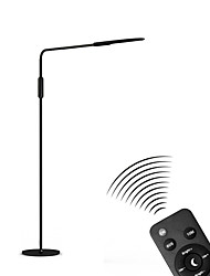 cheap -Dimmable Floor Lamp Eye Protection Adjustable Arm Touch Sensor 5 Levels Brightness Reading Lights Smart Home Stay Home Office Living Room ABS 100-240V White / Black