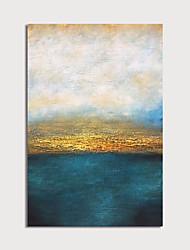 Недорогие -ручная роспись холст масляные краски абстрактные украшения дома с рамкой картины готовы повесить