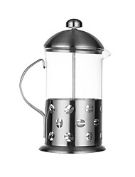 cheap -Stainless steel glass coffee pot Moka pot tea maker stainless steel method pressure pot coffee cup 350ml