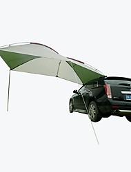 Недорогие -Открытый кемпинг портативный автомобиль боковой крышей и хвостом самостоятельного вождения туристическое оборудование против штормового дождя внедорожник автомобиль зонтик от солнца