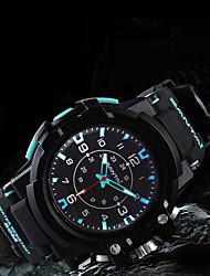 Недорогие -Универсальные электронные часы Японский Кварцевый Стильные Черный 50 m Защита от влаги Новый дизайн Cool Аналоговый На каждый день На открытом воздухе - Красный Черный / Белый Черный / зеленый