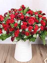 Недорогие -искусственный цветок одиночный букет гвоздика свадьба розарий украшение цветок