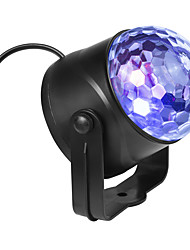 cheap -Mini Crystal Magic Ball lamp Colorful Rotating Stage Laser Lamp KTV Stage Lamp