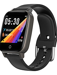 cheap -T1 Unisex Smartwatch Smart Wristbands Bluetooth Waterproof Touch Screen Heart Rate Monitor Thermometer Exercise Record Pedometer Call Reminder Activity Tracker Sleep Tracker Sedentary Reminder