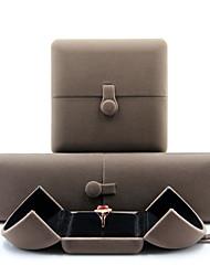 Недорогие -Круглый Упаковка ювелирных изделий - Темно-серый 4 cm 7.5 cm 5.5 cm / Жен.