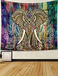 cheap -Indian Decor Elephant Mandala Tapestry Wall Hanging Hippie Throw Bohemian Dorm