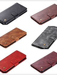 cheap -Case for Samsung Scene Picture Samsung Galaxy S20 S20 Plus S20 Ultra A51 A71 Classic retro leather pattern PU leather material card holder lanyard all-inclusive anti-fall mobile phone case JX