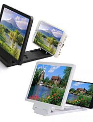 Недорогие -регулируемый в 3 раза увеличить кронштейн кронштейн сотовый телефон лупа универсальный мобильный телефон видео экран лупа телефон аксессуар