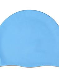 Недорогие -Шапочки для купания для Взрослые Силикон Мягкий Удобный Прочный Плавание Водные виды спорта