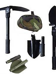 cheap -Factory Direct Shovel Stainless Steel Four-in-one Multi-function Folding Shovel Outdoor Tool Engineer Shovel