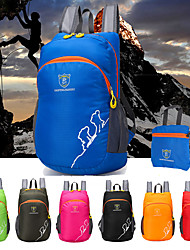cheap -Daofeng 20 L Hiking Backpack Lightweight Packable Backpack Breathable Rain Waterproof Fast Dry Compact Outdoor Fishing Hiking Camping Polyester Black Red Fuchsia