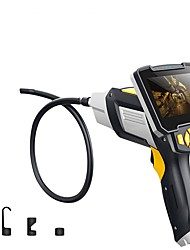 Недорогие -1 м 3,5 м 5 м 10 м цифровой эндоскоп змеиновый трубопровод промышленный эндоскоп 4,3-дюймовый жк-бороскоп видеоскоп с сенсором cmos полужесткая камера для осмотра ручной эндоскоп