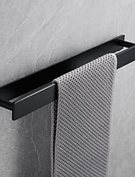 cheap -16-Inch Stainless Steel Self Adhesive Bath Towel Rack, Wall Mounted, Contemporary Bathroom Hardware Accessories Towel Bar, Vertical and Horizontal, Rustproof, 4 Colors, Matte Black, Brushed, Polished