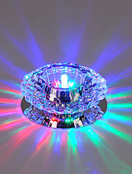 Недорогие -1 комплект 3 W 240 lm 3 Светодиодные бусины Встроенные Встроенное освещение 110-240 V Деловой Гостиная / столовая Хэллоуин Рождество