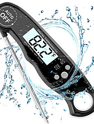 cheap -Electronic Waterproof Barbecue Digital Thermometer Folding Digital Digital Display Kitchen Milk Food Baking Digital Display Kitchen Thermometer Electronic Probe Type Liquid Thermometer
