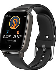 cheap -BoZhuo L-T1 Men Women Smart Bracelet Smartwatch Android iOS Bluetooth Waterproof Heart Rate Monitor Blood Pressure Contact Thermometer  Pedometer Call Reminder Smart Watch