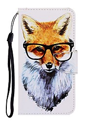 cheap -Case For Huawei P40 Lite/Nova 7SE/Y9 Prime 2019 Wallet / Card Holder / with Stand Full Body Cases Animal PU Leather For Huawei P Smart Z/P20 Lite 2019/Nova 7 Pro/Honor V30/Play 3