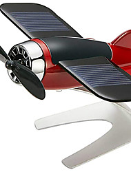 cheap -Fantastic Airplane Aircraft Model Solar Energy Fragrance Aircraft Model Car Home Decor Window Moving Aircraft Airplane Model